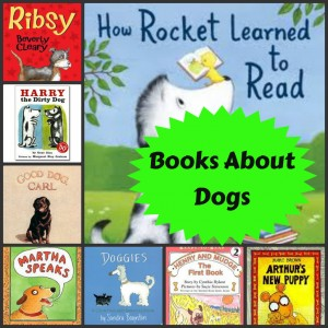 Books about dogs from growingbookbybook.com