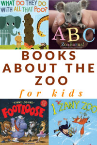 picture books about zoo for kids