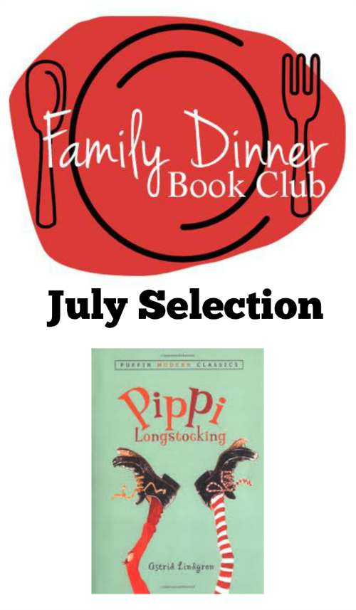 Family Dinner Book Club featuring Pippi Longstocking