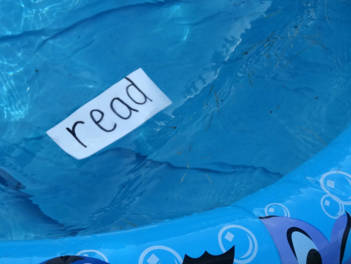 Reading by the pool great summer time reading from growingbookbybook.com