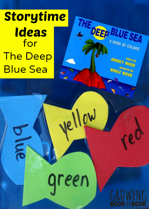 Storytime Ideas:  The Deep Blue Sea from growingbookbybook.com