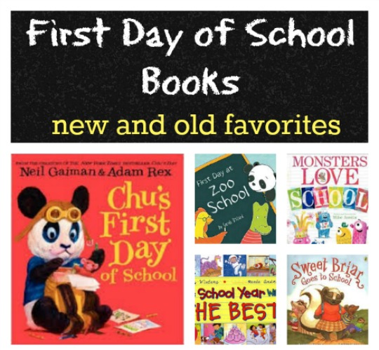 books to read for the first day of school