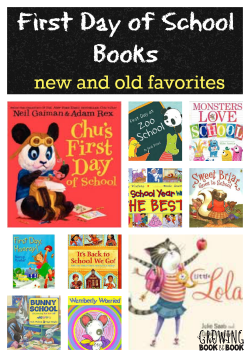 Back to School Books: new finds and old favorites from growingbookbybook.com