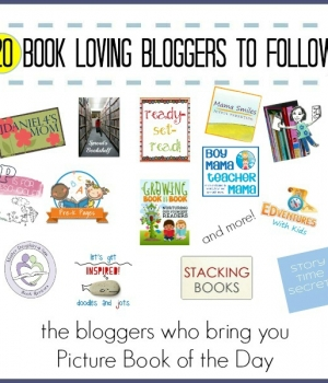 20 great bloggers to follow who love books for kids!
