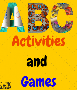 Alphabet games and activities to help kids learn letters and sounds from growingbookbybook.com