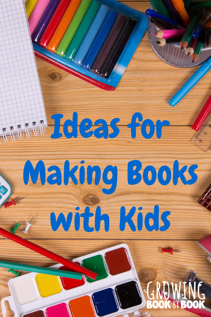 ideas for making books