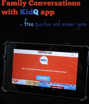 KidQ App is a free question and answer conversation starter resource for families!