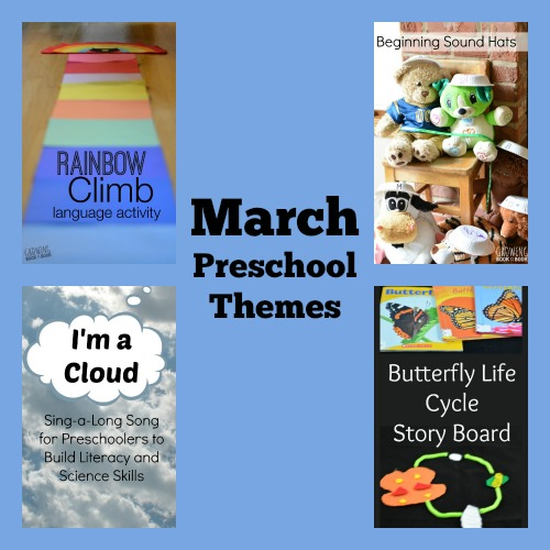 March playful preschool themes