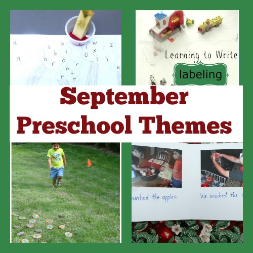 All of your fall themes in one place- apples, farms, harvest and family from the #PlayfulPreschool team!