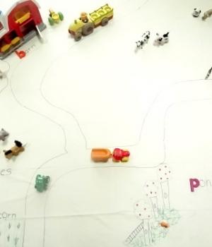 creating a farm playmat