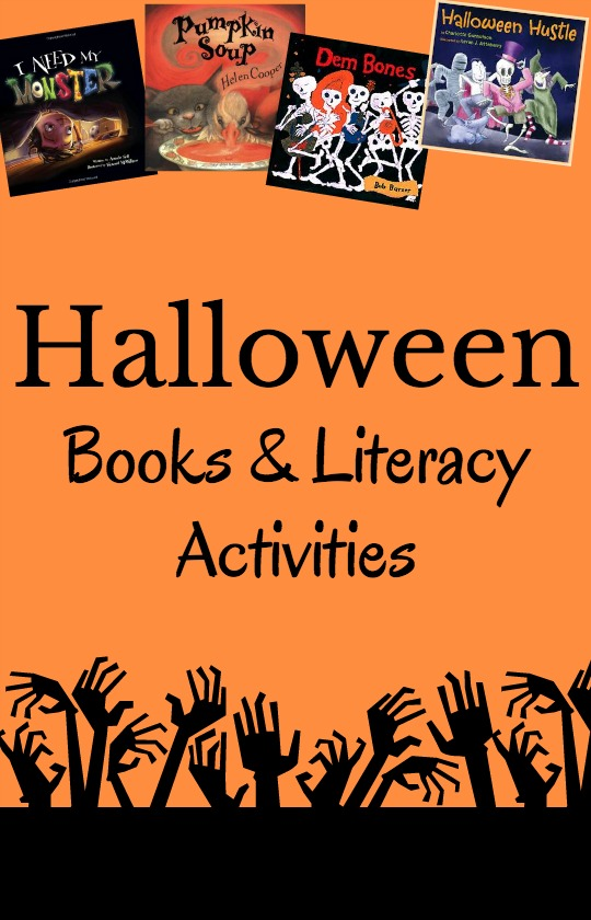 Great books and literacy activities to use for Halloween!
