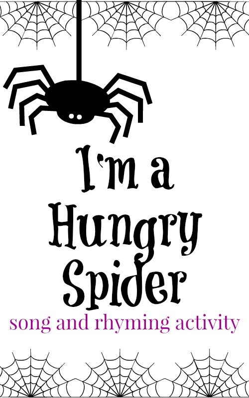Free Worksheets pre school work : Preschool Songs: I'm A Hungry Spider