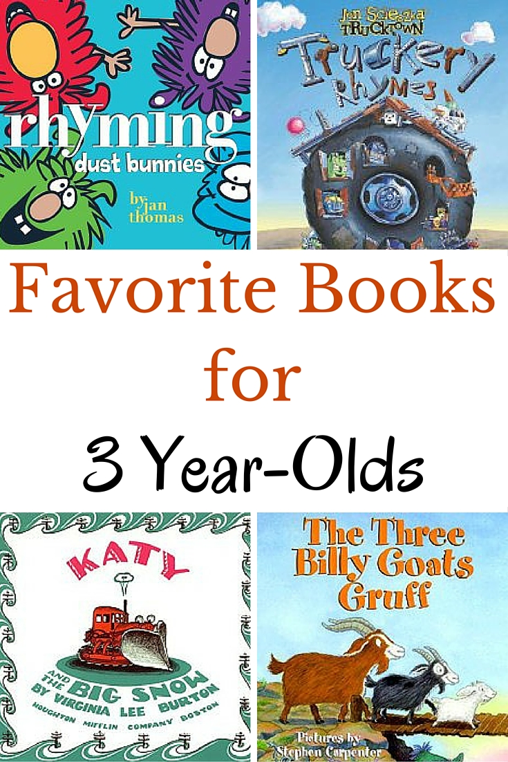 Check out books that 3 year-olds just love! These are our very favorite books for 3 year-olds. Preschoolers are sure to love them.