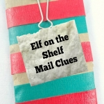 Elf on the Shelf Ideas: Two fun ways for your elf on the shelf to leave clues to find him each day from growingbookbybook.com