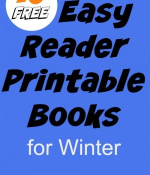 Free Printable Books for Kids: winter themed books for emergent and early readers