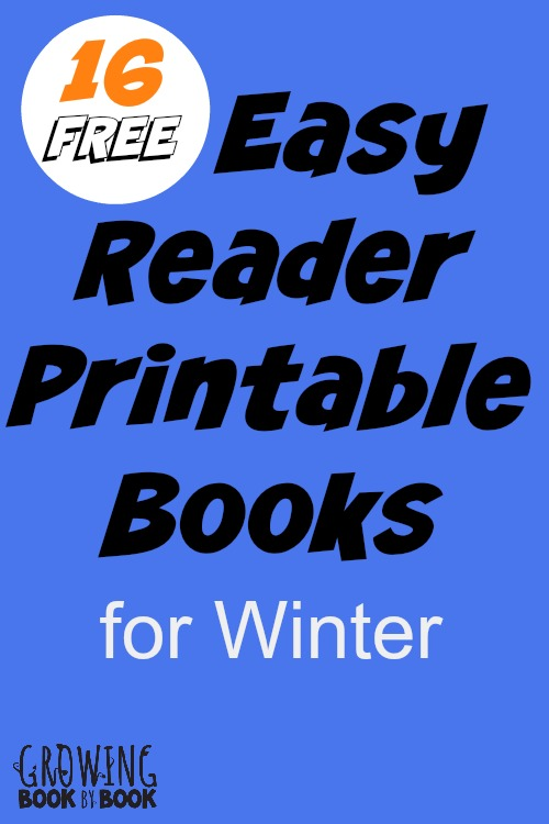 free printable books for kids winter themed books for emergent and early readers - Printable Books For Kids
