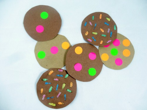 literacy activity: create cookies for the kindness jar
