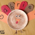Name Activities: Feather Letter Turkey
