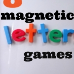 Magnetic Alphabet Games