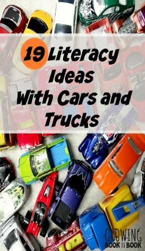 literacy ideas for car and truck play