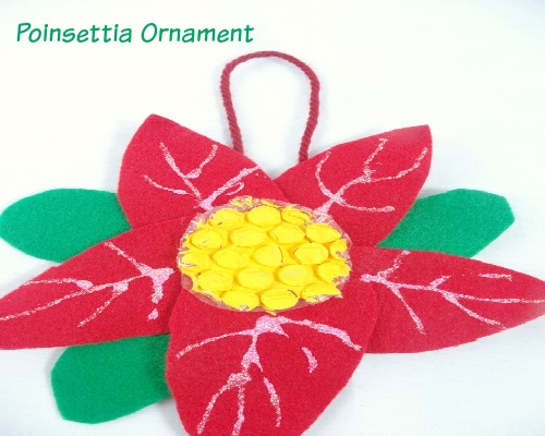 The Legend of the Poinsettia Ornament and Christmas Book for Kids from growingbookbybook.com