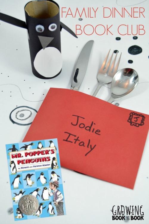 Family Dinner Book Club Mr. Popper's Penguins
