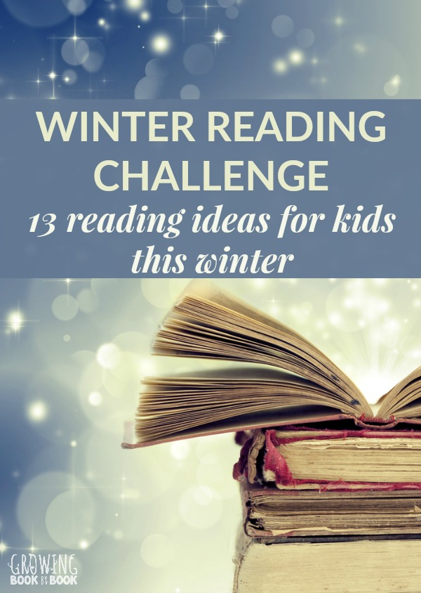 A winter reading challenge for kids, families, and classrooms to promote and motivate kids to read. A great challenge for getting kids to read all winter long. #reading #readingactivities #readingchallenge #literacy