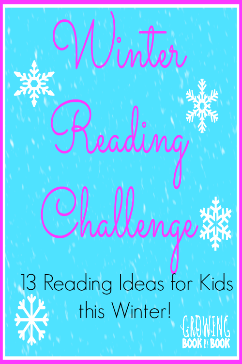 This reading challenge will keep the kids busy all winter!