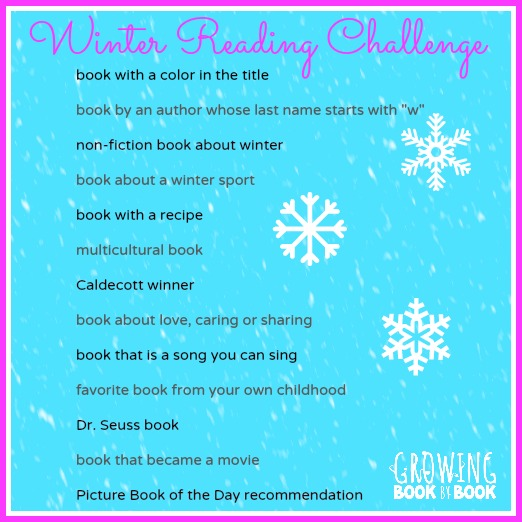 A reading challenge that will keep the kids busy during the long cold winter months.