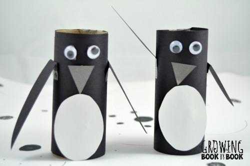 penguin craft for mr. popper's penguins