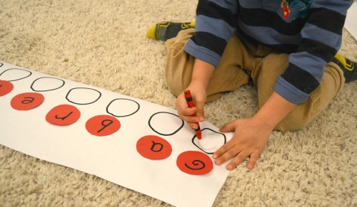 Mouse Shapes Learn to Spell Your Name Activity