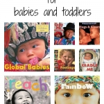Multicultural books for babies and toddlers that feature photographs from growingbookbybook.com