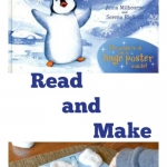 A number book to read and a number book to make with a cool making tape book binding idea from growingbookbybook.com