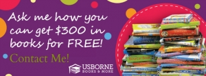 Earn free books through Usborne!
