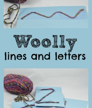 Writing activities for preschoolers takes a fun woolly twist with this fun pre-writing and writing activity to compliment the rhyme Baa Baa Black Sheep from growingbookbybook.com