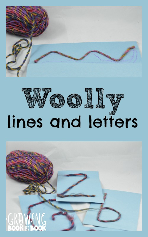 Writing Activities For Preschool Lines And Letters