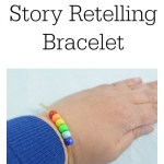 Build reading comprehension with this fun rainbow retelling bracelet. Includes a free printable from growingbookbybook.com
