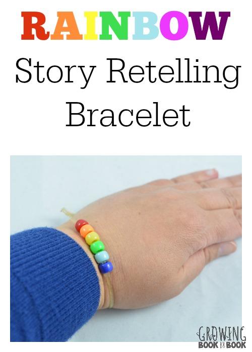 reading comprehension bracelet - Preschool Rainbow Activities