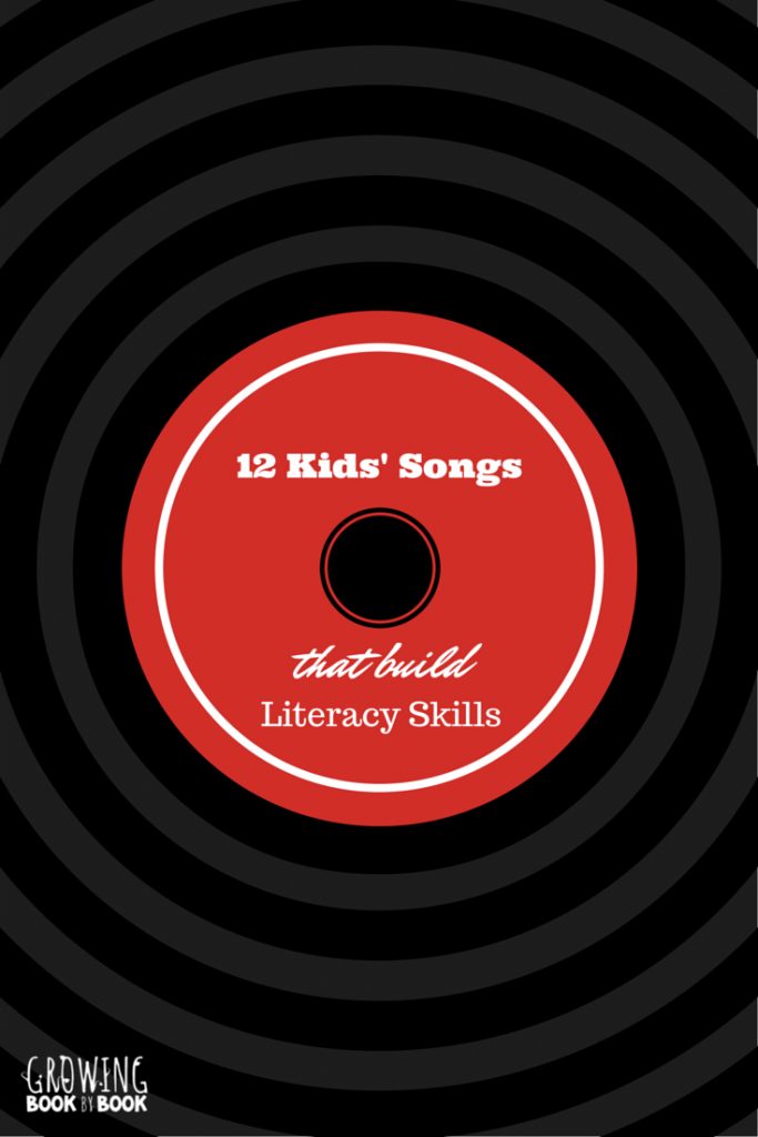 Kids' songs that promote learning the alphabet, rhyming, and other phonemic awareness skills.