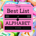 alphabet games and activities