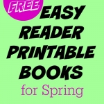 A fun collection of FREE printable books for new readers!