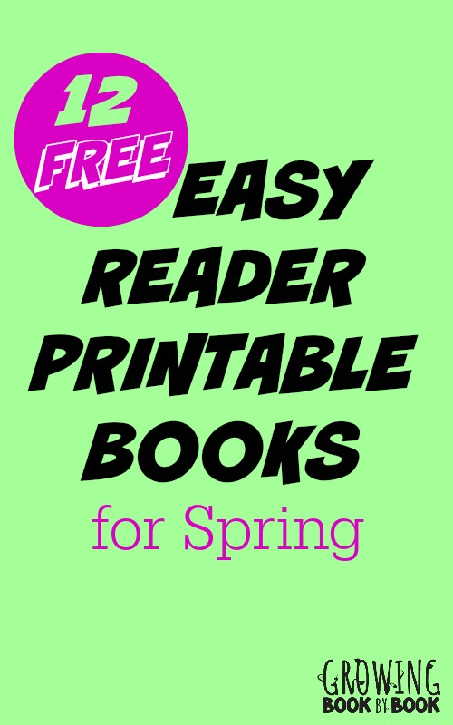 a fun collection of free printable books for new readers - Free Printable Books For Kids
