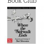 This month's Family Dinner Book Club selection is Where the Sidewalk Ends!