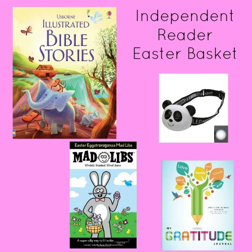 Easter basket ideas for independent readers to help build literacy skills.