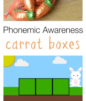 Build phonemic awareness skills with this spring themed activity.