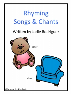 Grab your free rhyming chants and songs.