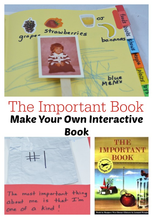 The Important Book: Make Your Own Interactive Book