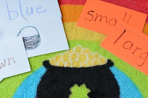 language activity to build vocabulary