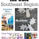 Learn about authors and illustrators from the Southeast Region for our Booking Across the USA.