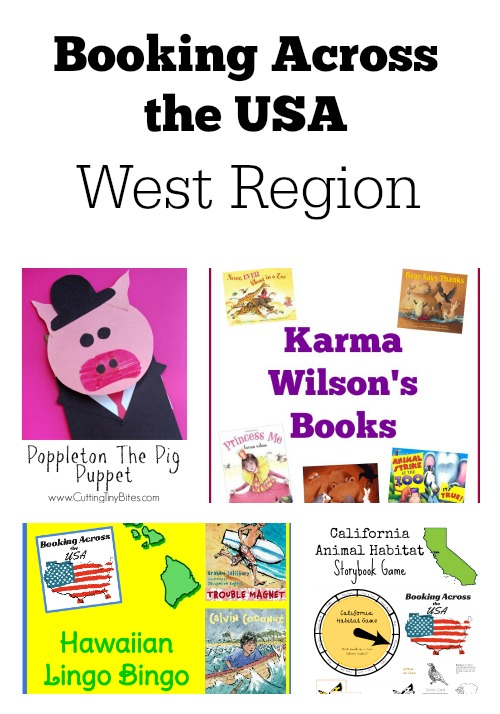 Learn about authors and illustrators from the West Region in the Booking Across the USA project.